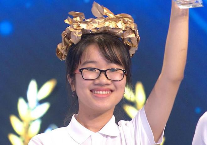 Nữ sinh xứ Quảng về nhất cuộc thi tuần Đường lên đỉnh Olympia - 1