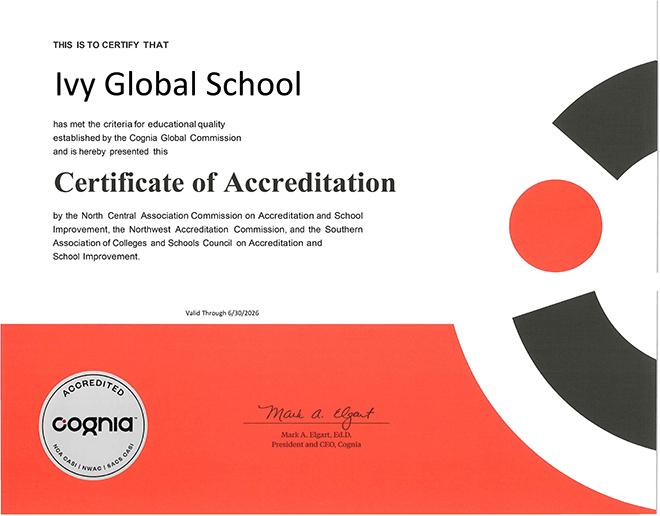Trường quốc tế Mỹ trực tuyến Ivy Global School đạt kiểm định toàn diện: Cơ hội lớn cho học sinh Việt Nam! - 1