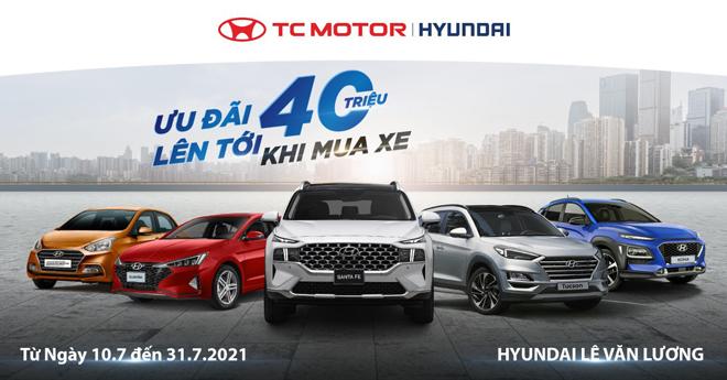 Hyundai Lê Văn Lương ngập tràn ưu đãi tháng 7 - 1