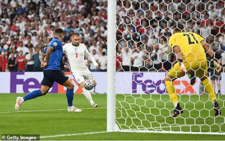 """Video Italia - Anh: Vượt khó xuất sắc, đăng quang sau loạt """"đấu súng"""" (Chung kết EURO) - 1"""