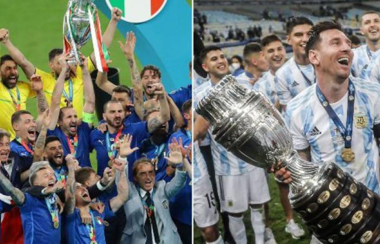 Italia & Argentina đăng quang châu lục, vẫn bị chê khó vô địch World Cup 2022 - 1