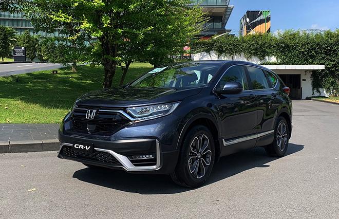 Giá xe Honda CR-V lăn bánh tháng 7/2021, ưu đãi 100% phí trước bạ - 11