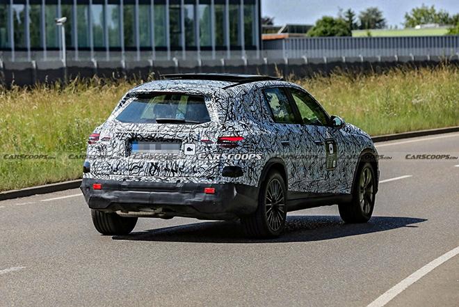 Mercedes-Benz GLC thế hệ mới bắt gặp trên đường thử trong lớp ngụy trang - 5