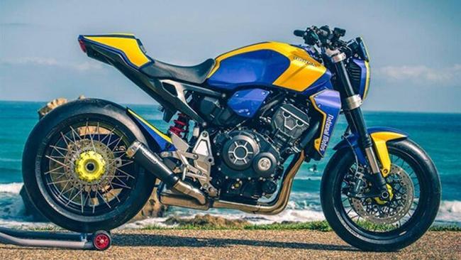 CB1000R Neo Sports Cafe xuất hiện với nhiều bản độ sặc sỡ khác nhau trong triển lãm Wheels and Waves tại Biarritz, Tây Ban Nha