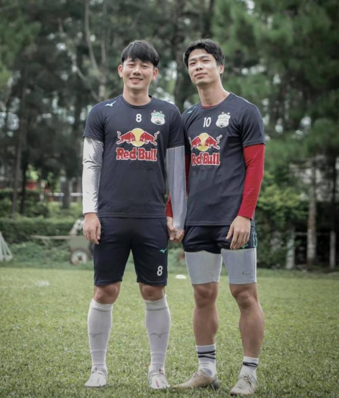 Minh Vương úp mở tương lai không cùng thi đấu với Công Phượng ở HAGL - 1