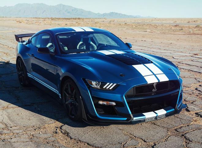 """""""Hổ mang chúa"""" Ford Mustang Shelby GT500 2020 cập bến Việt Nam - 5"""