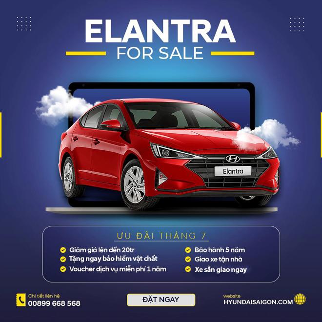 Siêu bão khuyến mãi ưu đãi cho khách mua xe Kona và Elantra đến 50 triệu đồng - 3
