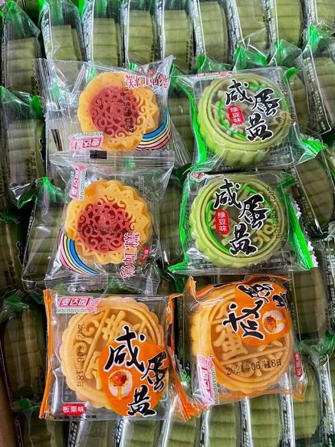 Bất ngờ bánh trung thu mini Trung Quốc bán đầy chợ với giá chỉ từ 3.000 đồng/chiếc - 1