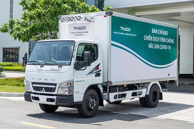 Chi tiết xe chuyên dụng vận chuyển và tiêm vaccine lưu động của THACO - 8