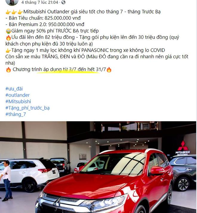 Một số đại lý giảm giá xe Mitsubishi Outlander hơn 100 triệu đồng - 4
