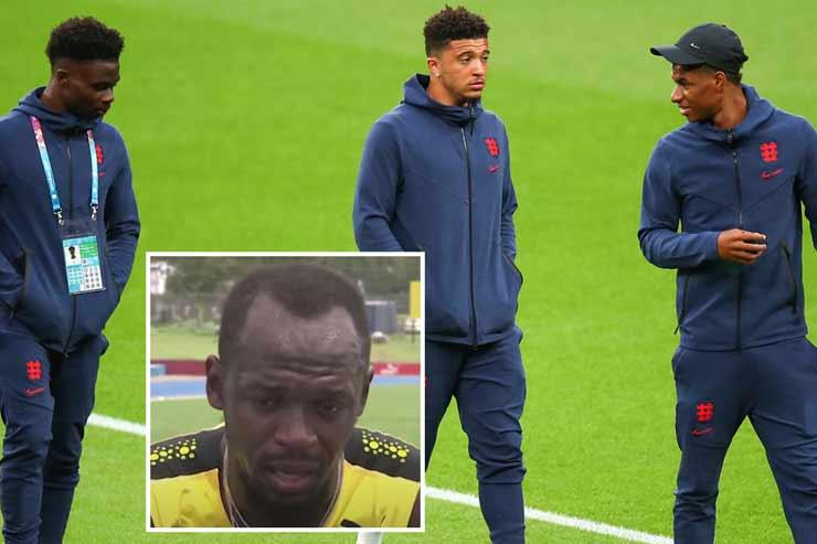 Tin mới nhất bóng đá tối 16/7: Usain Bolt lên tiếng bảo vệ 3 tội đồ ĐT Anh - 1