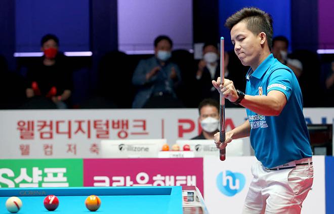 Siêu phẩm bi-a: Phương Linh một lượt cơ đánh bại nhà vô địch PBA Tour - 1