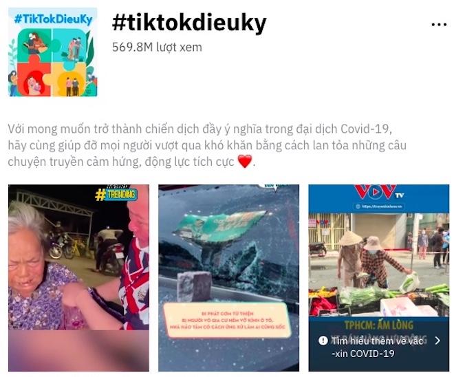 """""""Hot trend"""" #TikTokDieuKy là gì mà thu hút 600 triệu lượt xem? - 1"""