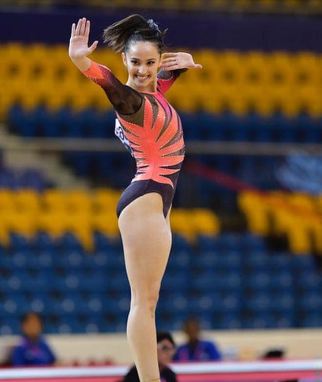 10 người đẹp châu Á chờ tỏa sáng ở Olympic: Nữ thần SEA Games tài sắc vẹn toàn - 1