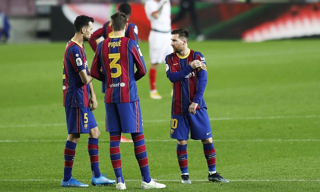 """Barcelona có biến: 4 """"công thần"""" bất hợp tác, từ chối giảm lương như Messi - 1"""