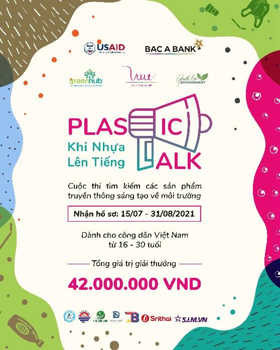 Cuộc thi Plastic Talk cho giới trẻ - tổng giá trị giải thưởng 42 triệu đồng - 1