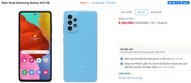 Top điện thoại Galaxy A đắt khách nhất, đang giảm giá lúc này - 1