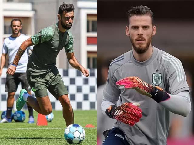 Fernandes và De Gea bất ngờ trở lại tập, có đá trận MU gặp Derby County? - 1