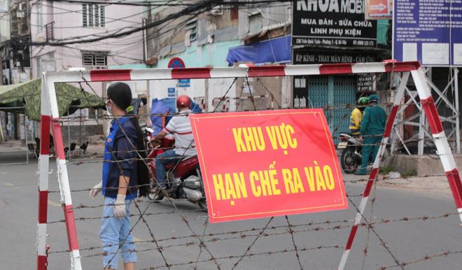 TP.HCM: Phong tỏa 2 phường với gần 60.000 dân ở Thủ Đức - 1
