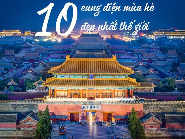 Du lịch - 10 cung điện mùa hè đẹp nhất thế giới khiến du khách trầm trồ