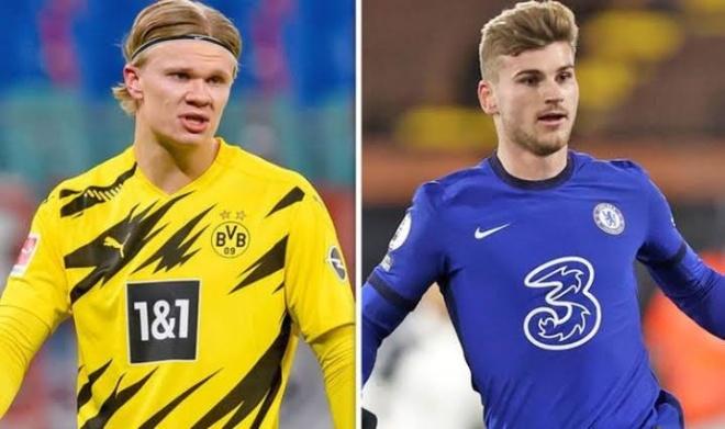 """Chelsea muốn tiễn """"chân gỗ"""" Werner, tất tay gom 150 triệu bảng đón Haaland - 1"""