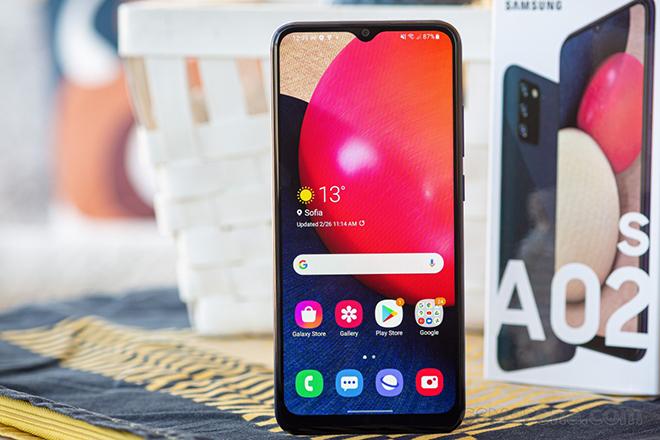 """Galaxy A02s - Smartphone """"ngon, bổ"""" nhất ở tầm giá 2 triệu - 1"""