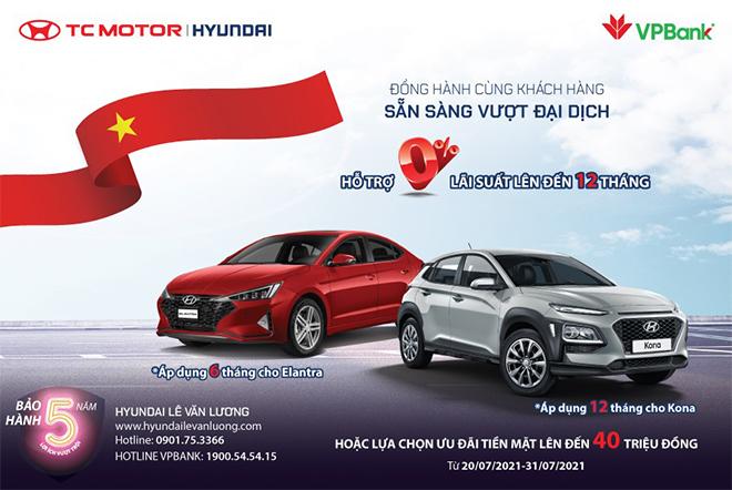 Hyundai Lê Văn Lương khuyến mãi Hyundai KONA & Elantra lên tới 40 triệu - 1