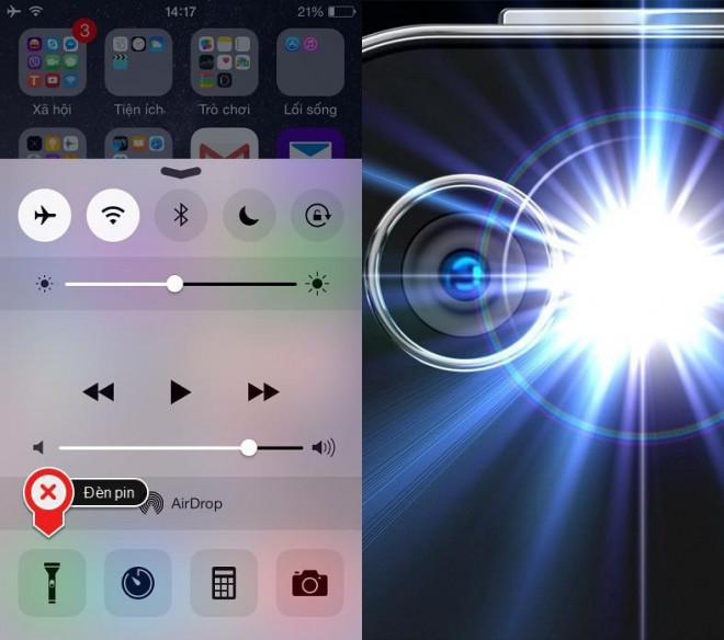 Những mẹo thú vị khi bật đèn flash trên iPhone ai cũng nên biết - 1