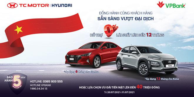 Hyundai KONA & Elantra khuyến mại tới 40 triệu đồng - 1