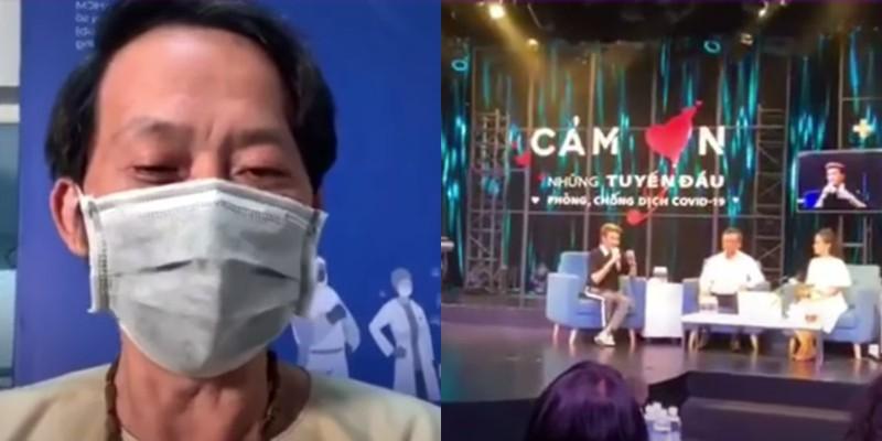 Đàm Vĩnh Hưng bức xúc khi clip cùng NS Hoài Linh kêu gọi ủng hộ bị lan truyền trên mạng - 1