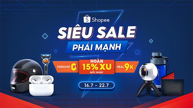 Rinh hàng công nghệ giảm giá thả ga, săn loạt voucher cực đã cùng Shopee - 1