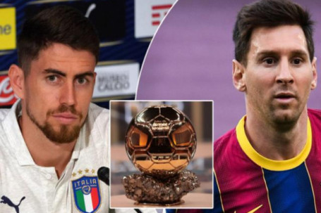 """Huyền thoại Chelsea đòi """"cướp"""" Quả bóng Vàng của Messi trao cho Jorginho"""