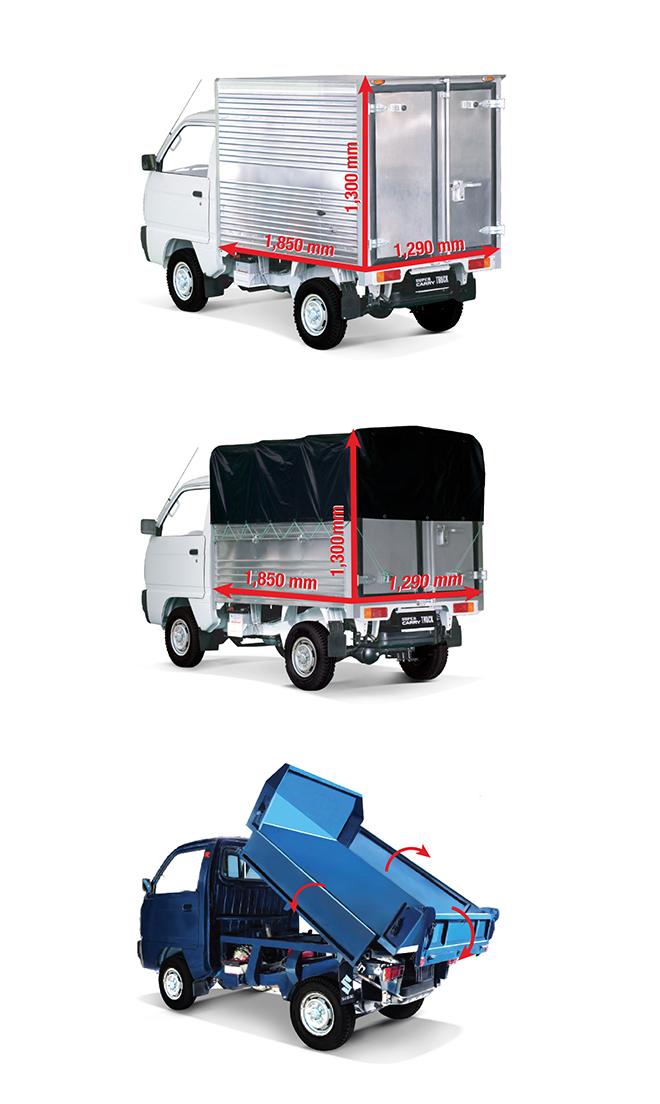 Suzuki Carry Truck, lựa chọn sáng suốt sau bài học cay đắng với xe tải nhẹ sao chép - 5