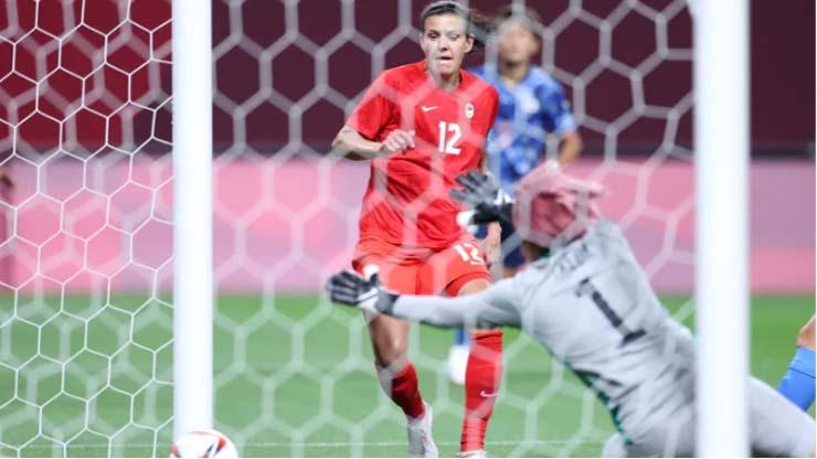 Video ĐT nữ Nhật Bản - Canada: Cú sốc đầu trận, chủ nhà thoát hiểm (Olympic Tokyo) - 1