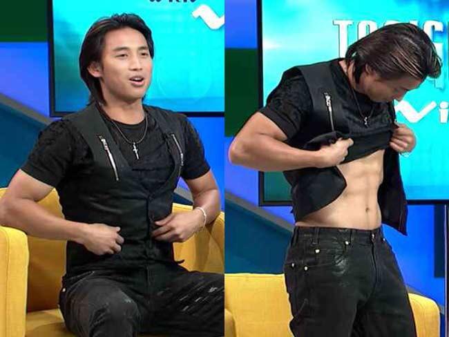 Đan Nguyên là một ca sỹ sở hữu ngoại hình điển trai, nam tính cùnggiọng hát ấn tượng. Nhưng anh cũng được biết đến là một nam thần cơ bắp của Vbiz.