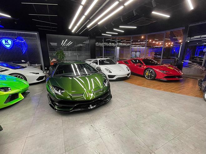 """""""Siêu bò"""" Lamborghini Aventador SVJ màu độc đã về Việt Nam - 1"""
