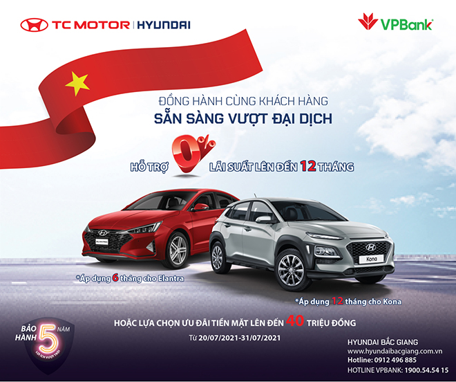 Hyundai KONA & Elantra khuyến mãi tới 40 triệu đồng - 1