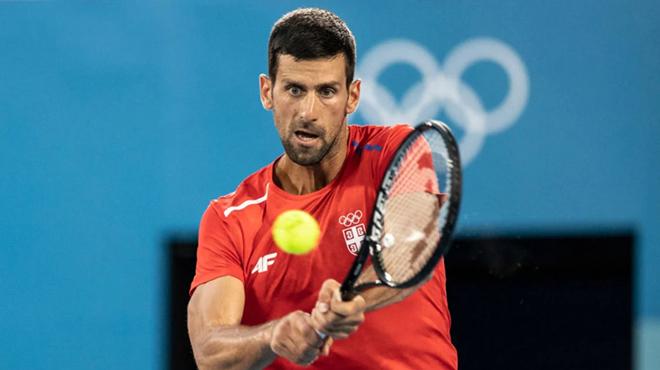 """Bốc thăm tennis Olympic: Djokovic gặp """"mồi ngon"""", hẹn Medvedev tranh HCV - 1"""