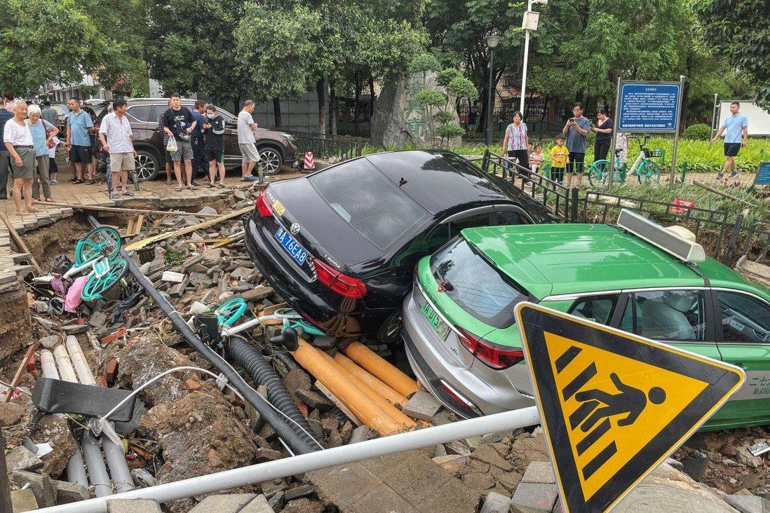 """TQ: Sau trận mưa lũ """"ngàn năm có một"""", 4 thành phố lại chuẩn bị đón mưa lớn - 1"""