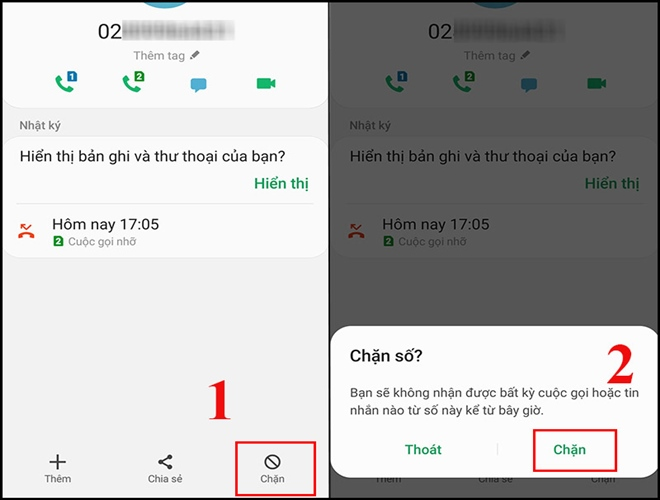 How to block a phone number from being disturbed by strange numbers - 7