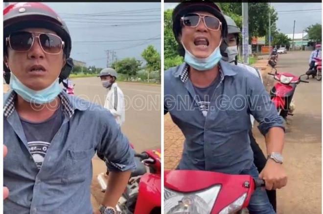 Nam thanh niên chửi bới, đạp cảnh sát ở chốt kiểm soát dịch tại Đồng Nai là ai? - 1