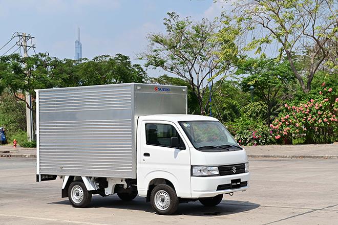 """Xe tải nhẹ Suzuki Carry Pro, phát huy tính """"linh hoạt"""" mùa giãn cách - 1"""