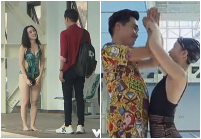 Trong phim, Hoàng Mai Anh vào vai cô giáo dạy bơi nóng bỏng. Phân đoạn đắt giá nhất phim là khi côgiáo dạy bơi Hoàng Mai Anh khiến nam sinh Cao Minh Bách (Xuân Nghị) chảy máu mũi vì quá sexy.