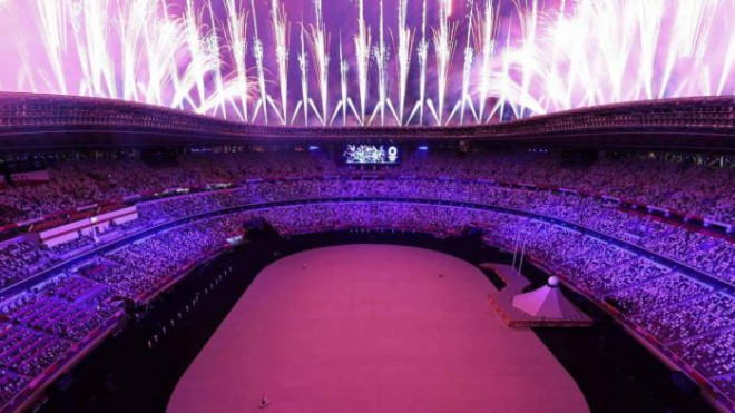 A series of colorful pictures of the opening ceremony of the 2021 Olympic Games, without a shadow of the audience - 2