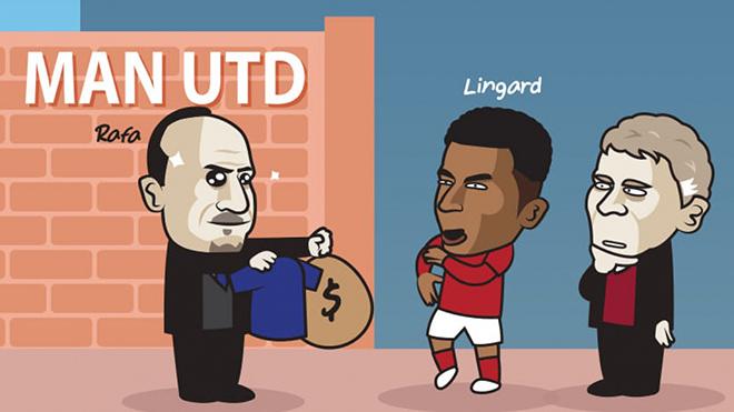 """Ảnh chế: Everton có âm mưu mang """"đấng Lingardinho"""" rời khỏi MU - 1"""