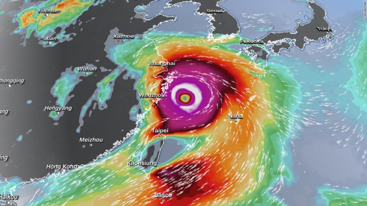 Bão sức gió gần 200 km/giờ sắp đổ bộ, Trung Quốc phản ứng khẩn - 1
