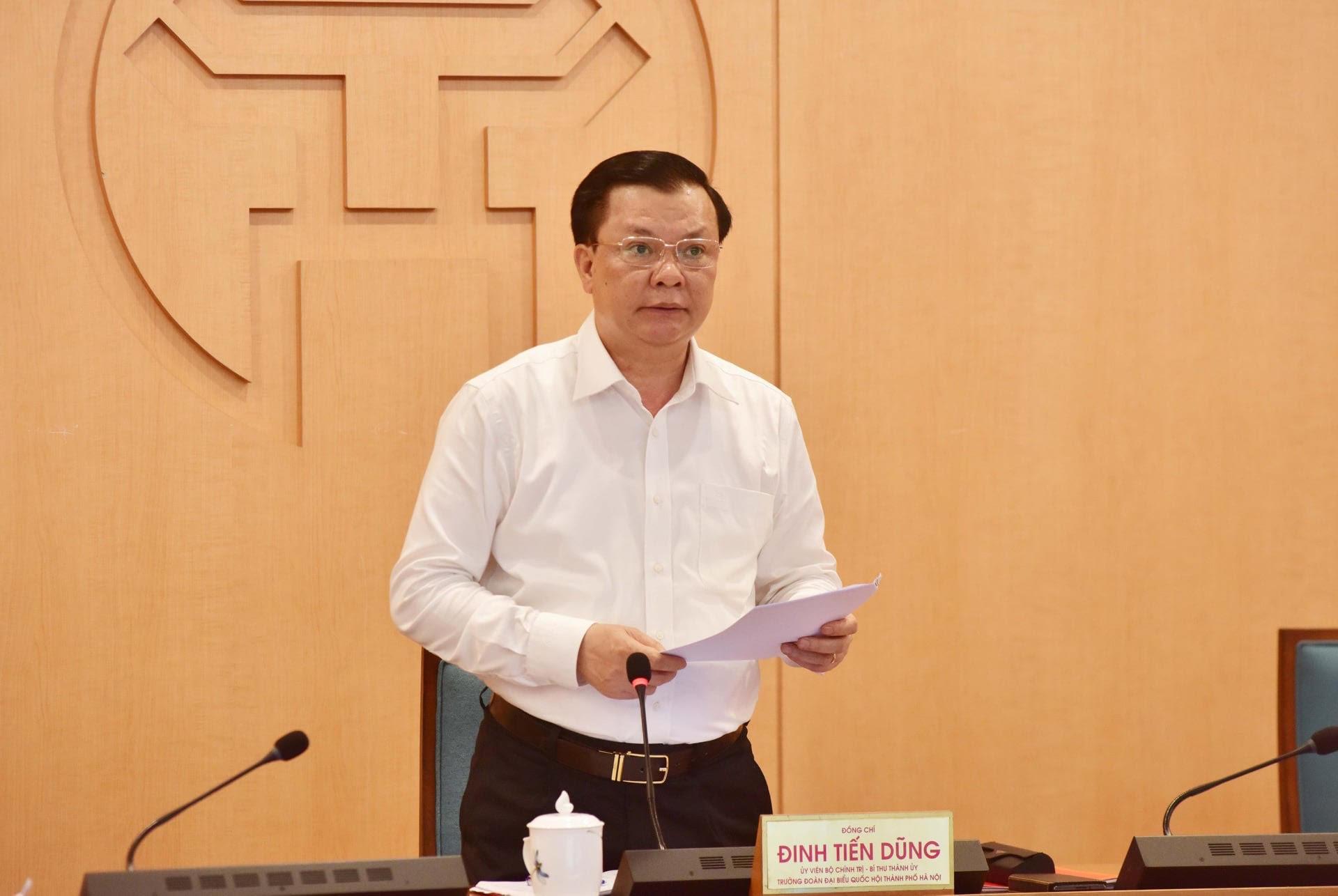 Bí thư Thành ủy Hà Nội nói về lý do thành phố quyết định giãn cách xã hội - 1