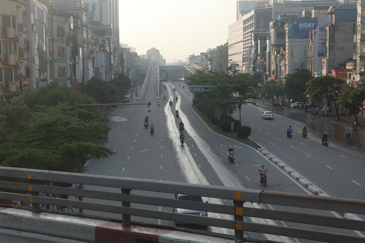 Hình ảnh phố phường Hà Nội lần thứ 2 giãn cách toàn xã hội theo Chỉ thị 16 - 15