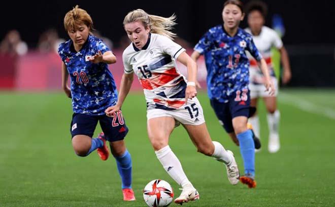 Video ĐT nữ Nhật Bản - Vương quốc Anh: Khoảnh khắc định đoạt, chủ nhà lâm nguy (Olympic Tokyo) - 1