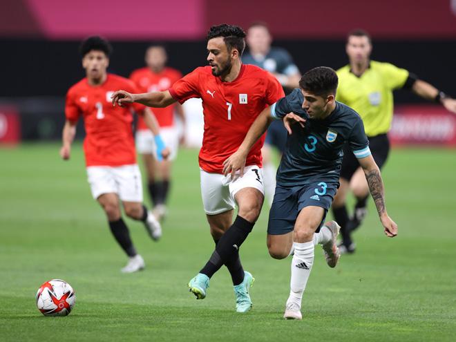 Video Olympic Ai Cập – Argentina: Bàn thắng bất ngờ, 3 điểm đầu tay (Bóng đá nam) - 1